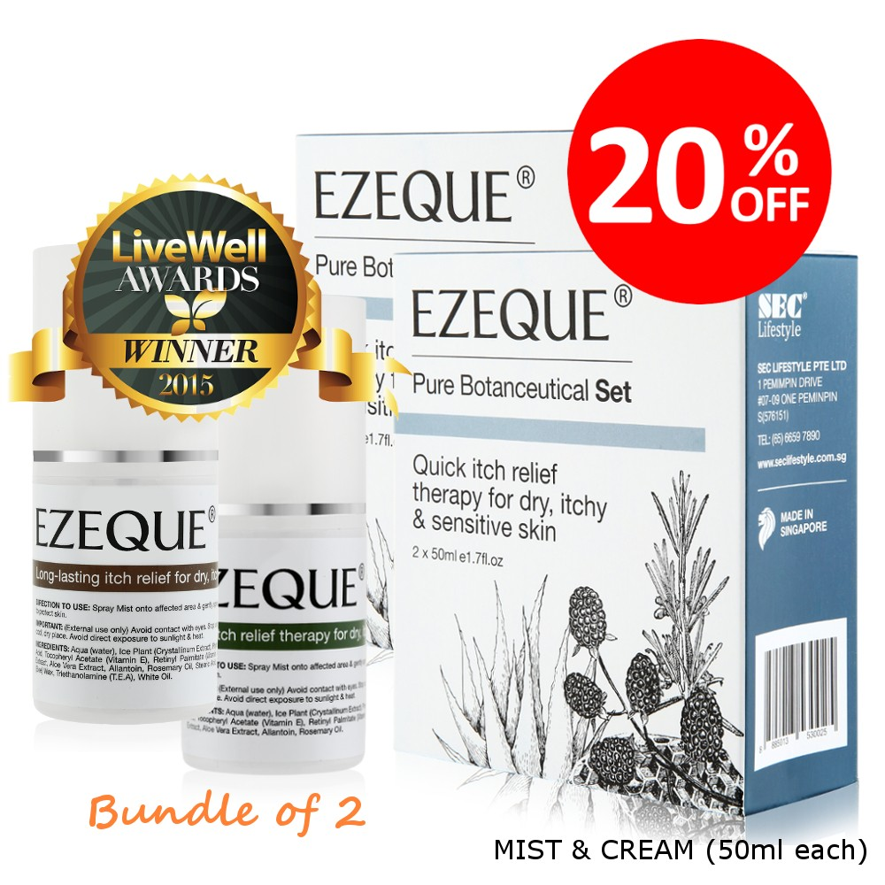 EZEQUE Bundle of 2 Promo